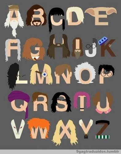 The PotterHead Alphabet