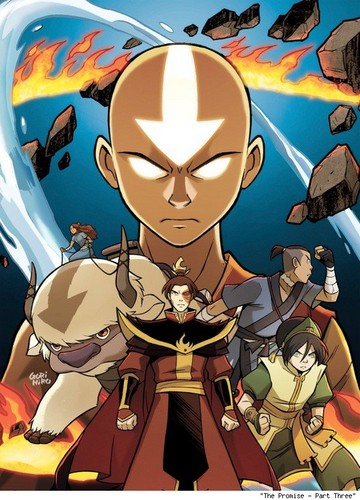 Avatar: The Last Airbender wallpaper with anime called The Promise part 3 - colored cover