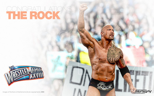The Rock- Wrestlemania