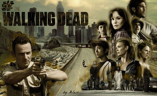 "The Waking Dead ""Walkpaper"""