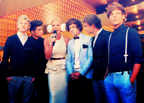 The boys on the red carpet at the Logies :)♥