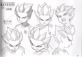 The design of character in IE - inazuma-eleven photo