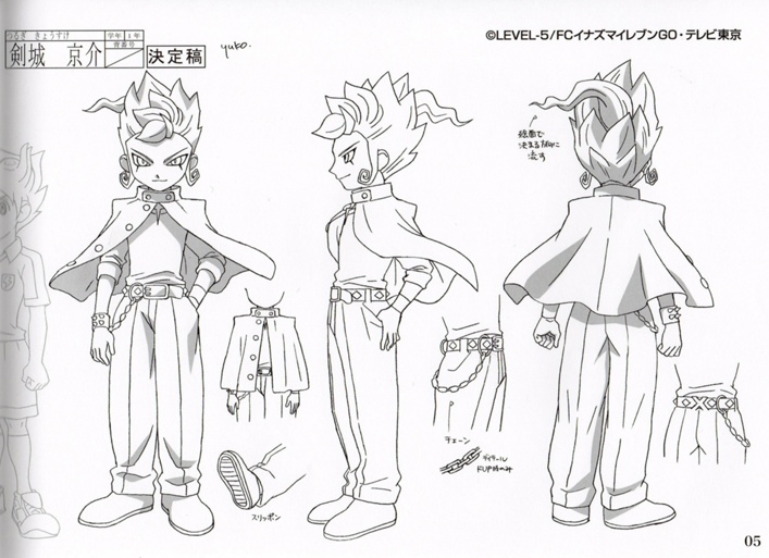 The Design Of Character In Ie Inazuma Eleven Photo