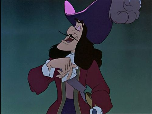 The elegant,handsome,crazy Captain James Hook