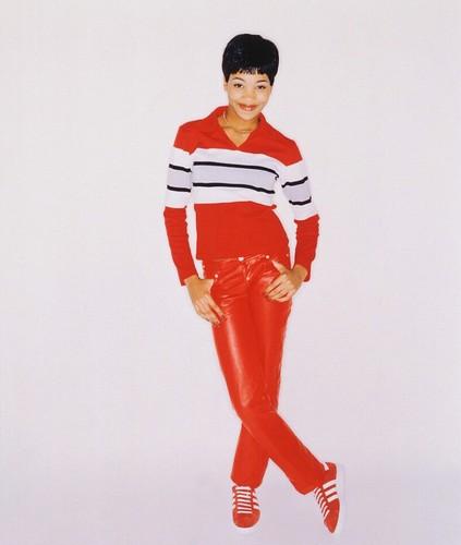 Throwback Monica 1995 foto Shoot