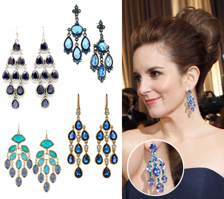 Tina Fey Oscar 2012-earrings-get-the-look.  - tina-fey Photo
