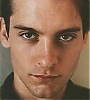 Tobey Maguire photo with a portrait titled Tobe Maguire Icon