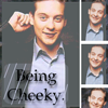 Tobey Maguire photo probably containing a portrait and anime called Tobey Maguire Icon