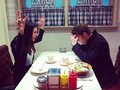 Torrey DeVitto and Paul Wesley pic twitter