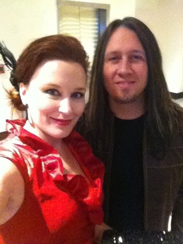 Troy and Amy @ Golden Gods Awards