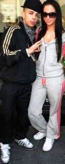 Tulisa and Dappy! <3