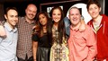 Tulisa with the Radio 1 Team
