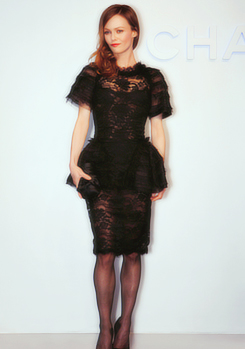 Vanessa Paradis 2012 Chanel Fashion montrer on Tokyo Japon march 23