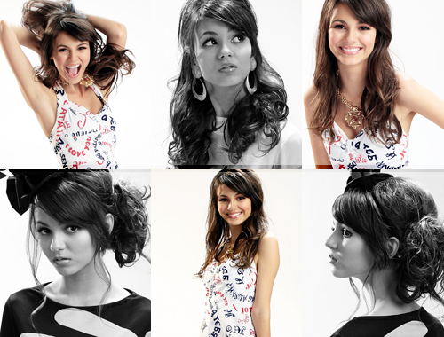 Victoria Justice wallpaper containing a portrait, a bridesmaid, and a cocktail dress entitled Victoria <333333