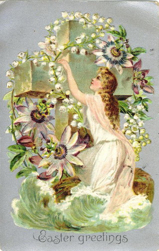 Vintage Easter Card for Enchanting Berni