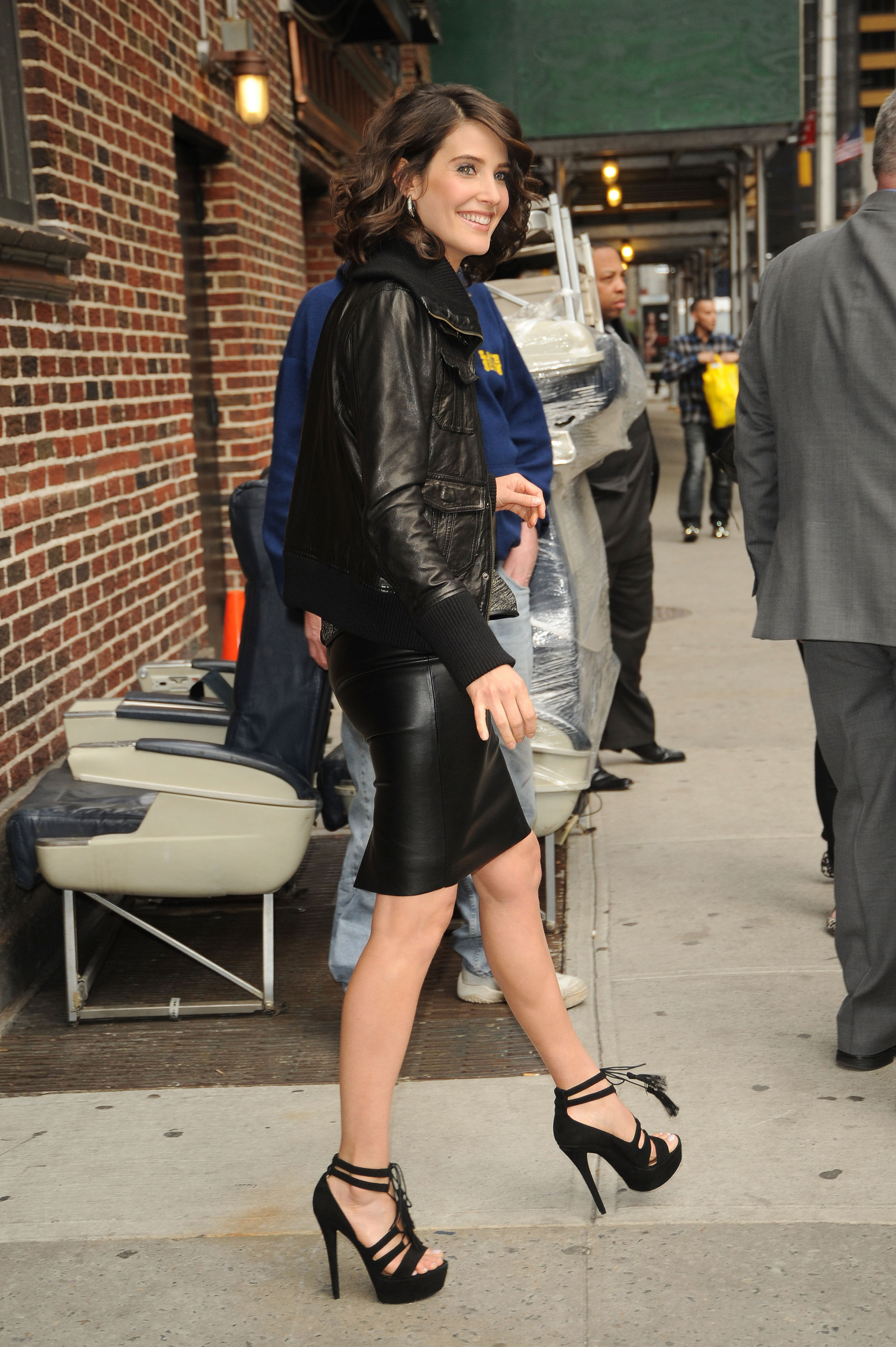 Cobie Smulders on letterman
