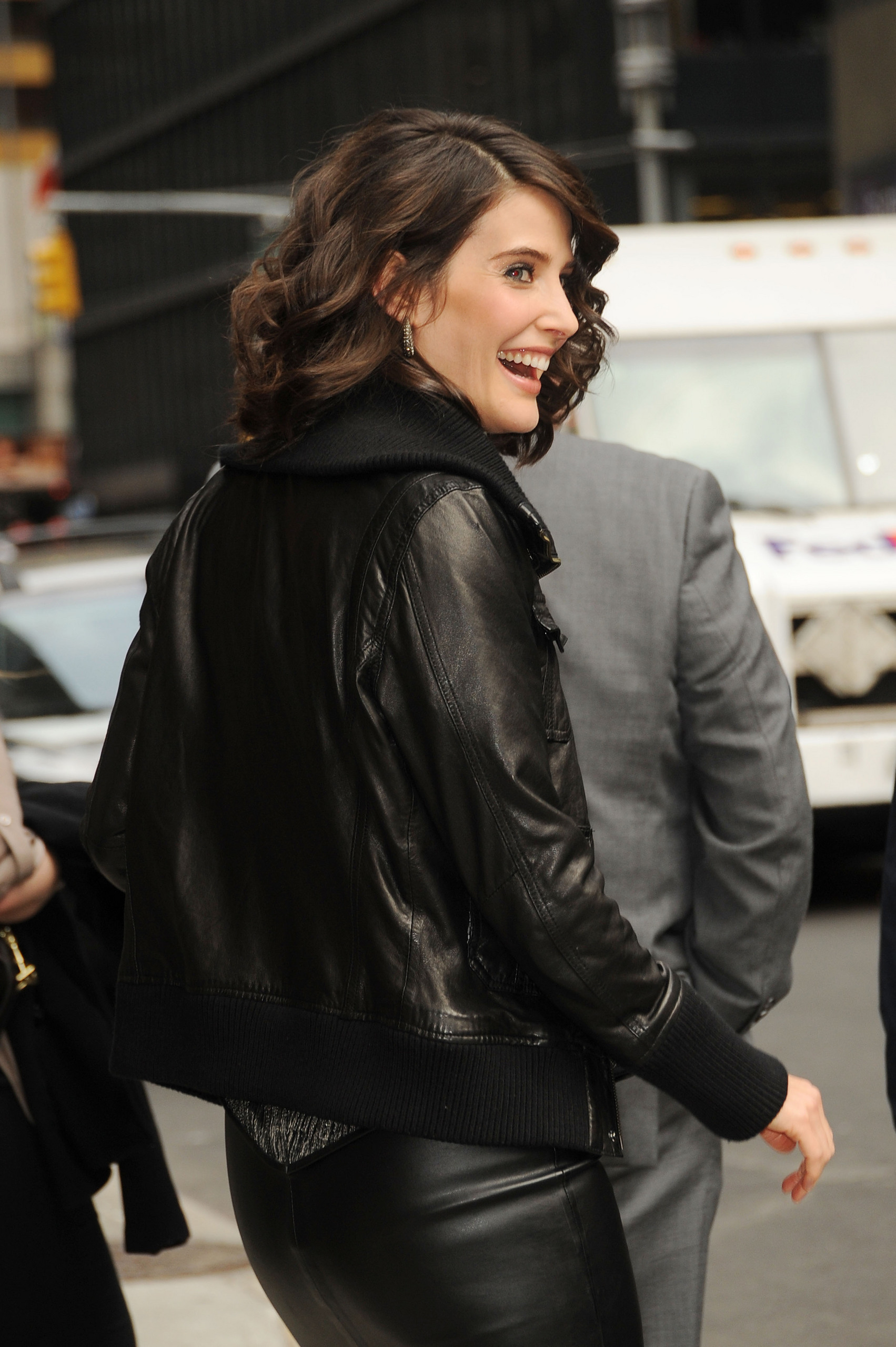 Cobie Smulders david letterman