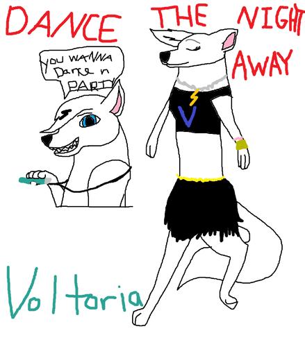 Voltoria dancin' away