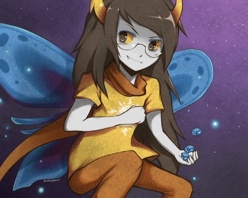 Vriska Serket wallpaper containing anime called Vriska