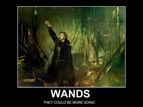 Wands (Could be more Sonic) - david-tennant Photo