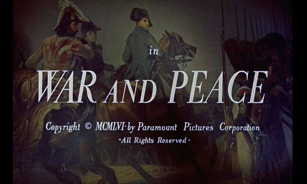 Tolstoy War And Peace War And Peace
