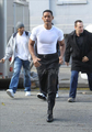 Will Smith on Set - men-in-black-3 photo