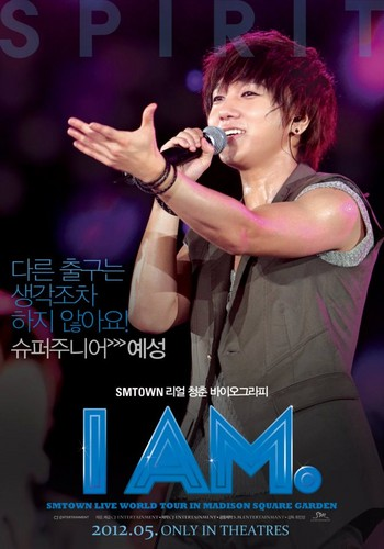 "Yesung's ""I Am"" Poster"