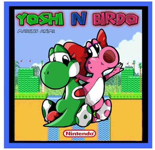 love  yoshi and birdo photo 11886563  fanpop