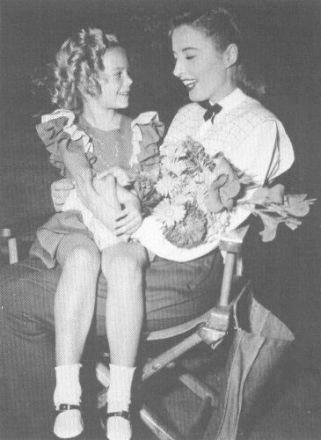 Young Nat with Barbara Stanwyck