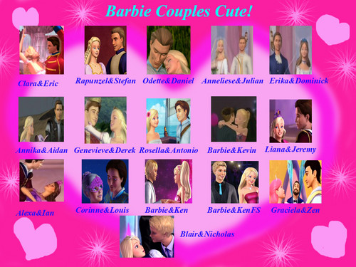 búp bê barbie couples