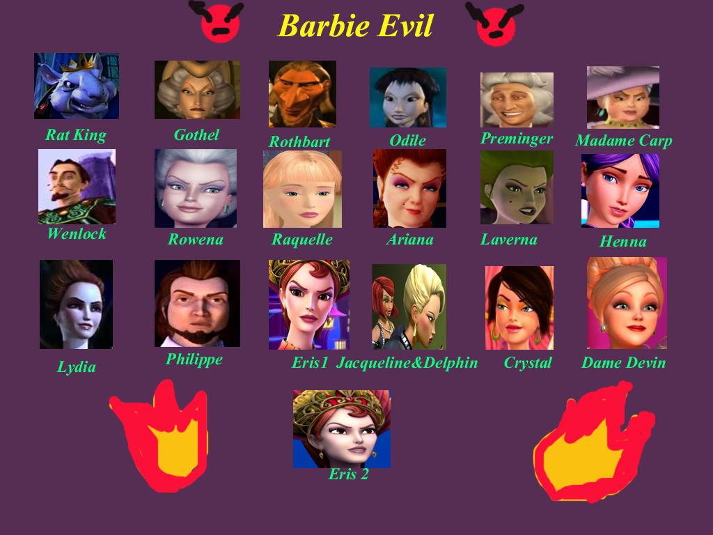 barbie evil