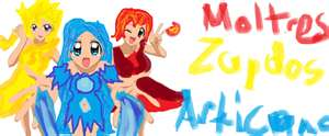 chibi ica, zandra, and molly - the-random-anime-rp-forums Fan Art