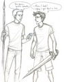 comic funny - percy-jackson fan art