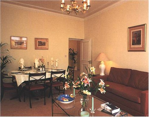 Princess Diana wallpaper containing a living room, a family room, and a parlor entitled diana home-kensington palace apartment