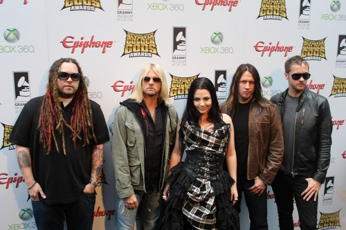 evanescence in golden gods awards