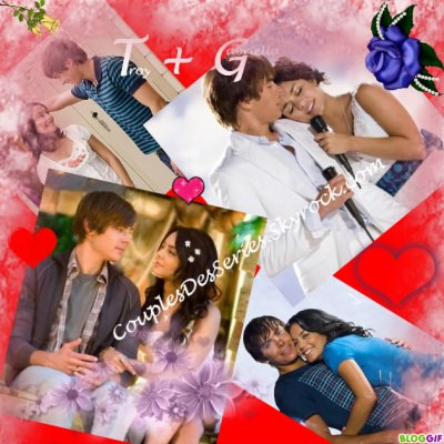 msyugioh123 wallpaper called gabriella and troy