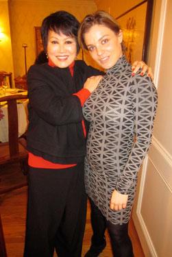 Yue-Sai and Gala