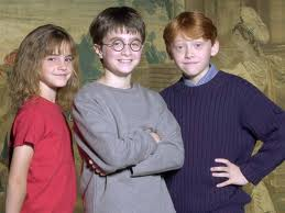 harry ron and hermine