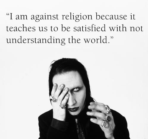 i'm against religion