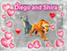 ice age cutest feline couple - shiraxdiego4ever icon