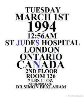 jb b-day information..from beliebers ;)