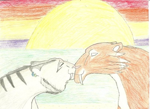 kiss under the sunset