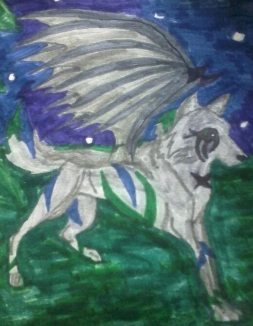 Magic Wolves Images Me Wallpaper And Background Photos