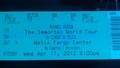 mj immortal concert ticket <3 - michael-jackson photo