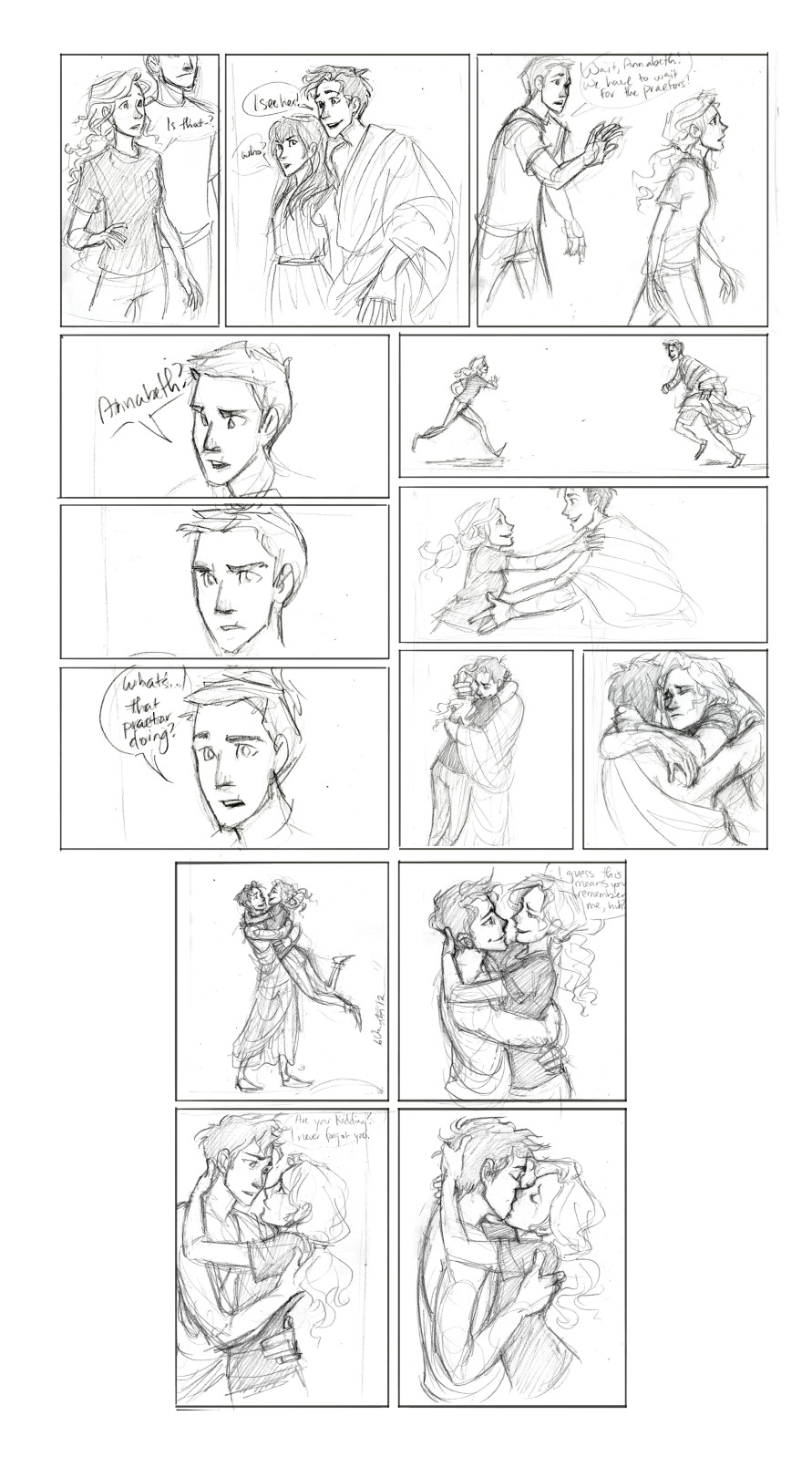 more comics - Percy Jackson Fan Art (30431889) - Fanpop Percy And Annabeth Fall Into Tartarus