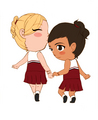 more random Brittana fanart - brittany-and-santana fan art