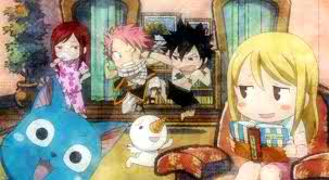 natsu and gang - fairy-tail Photo