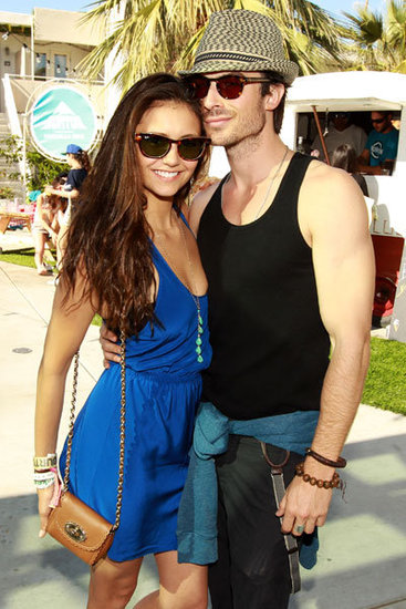 nian at coachella - ian-somerhalder-and-nina-dobrev photo