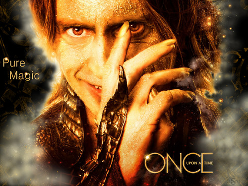 Television wallpaper titled once upon a time
