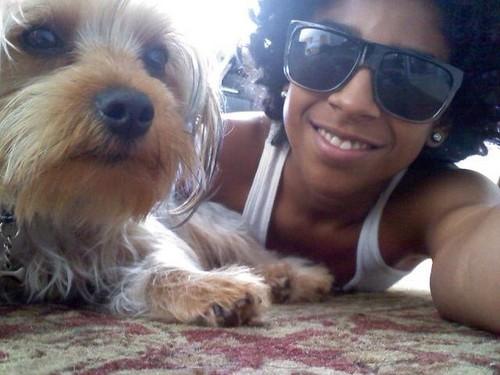 princeton and his dog